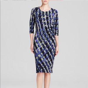 BOSS Hugo Boss Abstract Printed Dress, Size 4